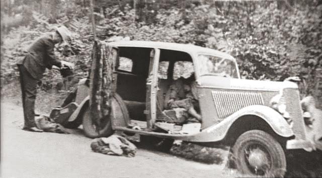 Машина Бонни и Клайд - Каменный лес Stone Forest