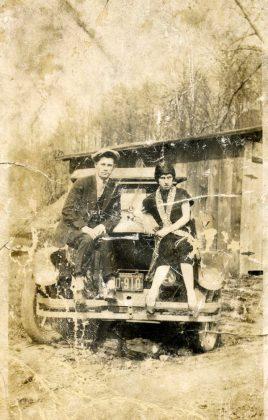 Фотографии Бонни и Клайда - Каменный лес Stone Forest