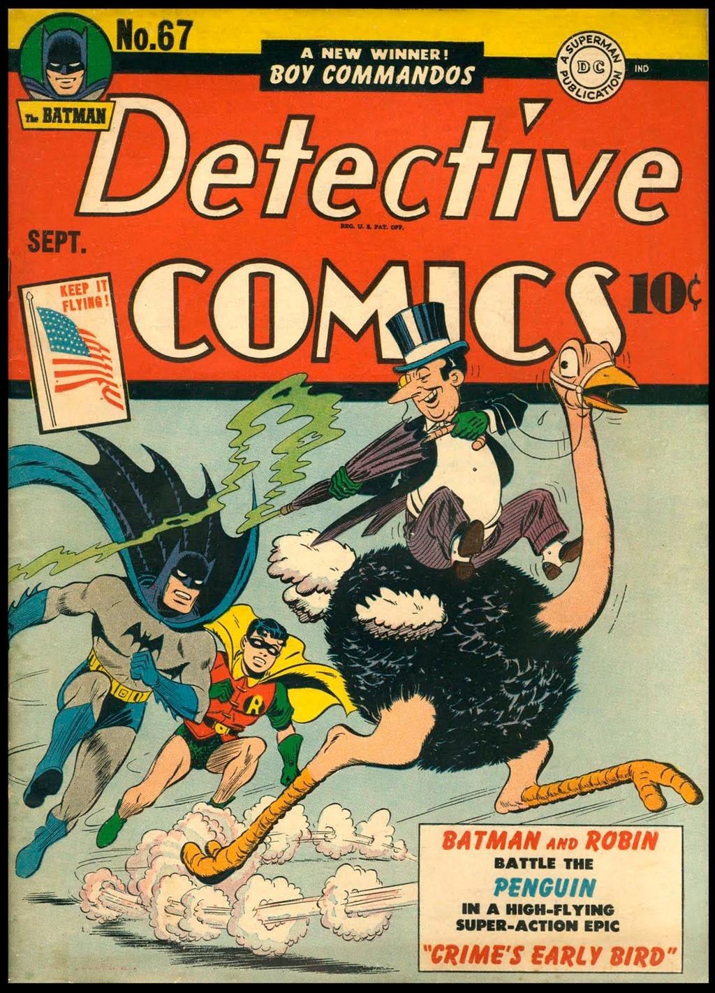 первое появление Пингвина в DC Comics