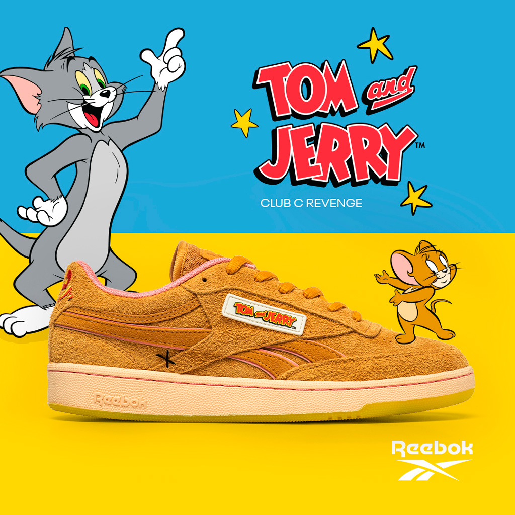 капсульная коллекция Reebok Tom Jerry