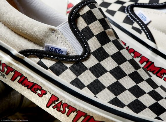 Обувь Vans Checkerboard Slip-On - Каменный лес Stone Forest