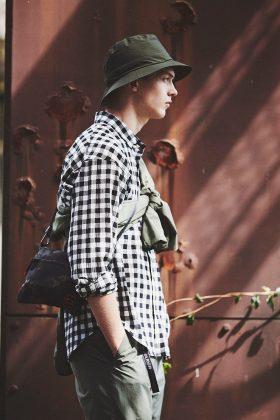 Коллекция Woolrich Outdoor весна-лето Label 2020 - Каменный лес Stone Forest