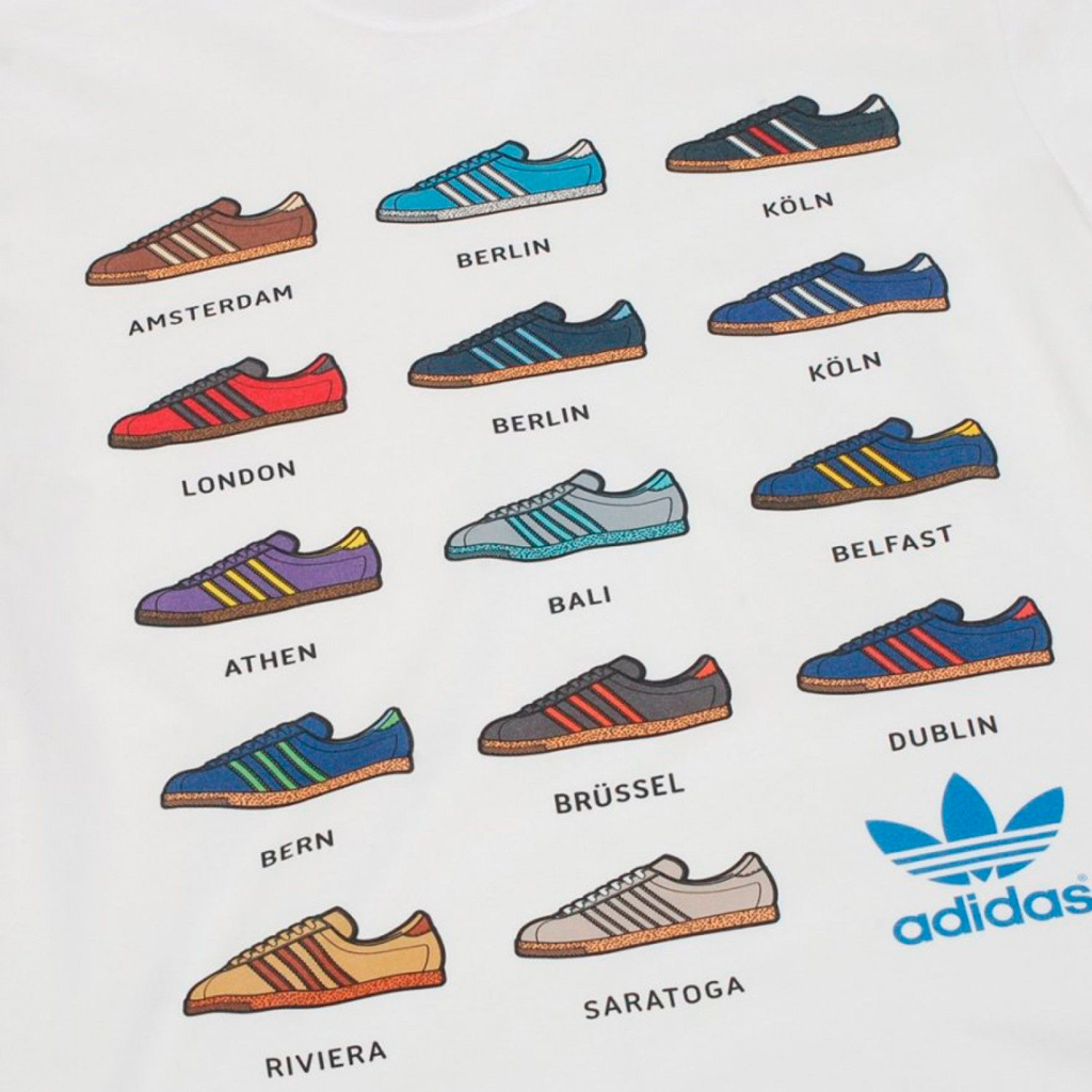 все названия кроссовок adidas city series