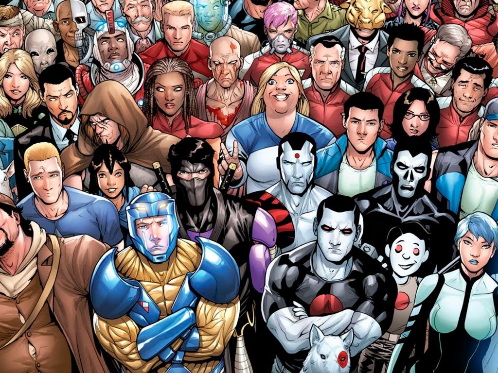 герои Harbinger Foundation из вселенной Valiant Comics