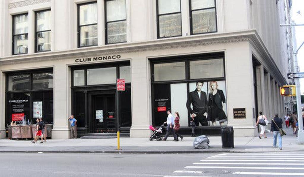 магазин Club Monaco