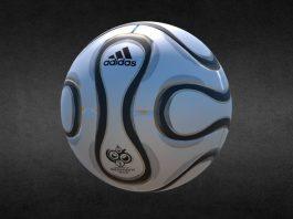Футбольный мяч Adidas Teamgeist