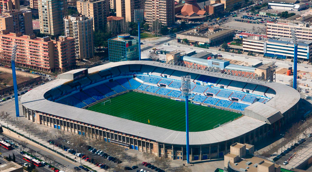 Стадион ФК Реал Сарагоса La Romadera