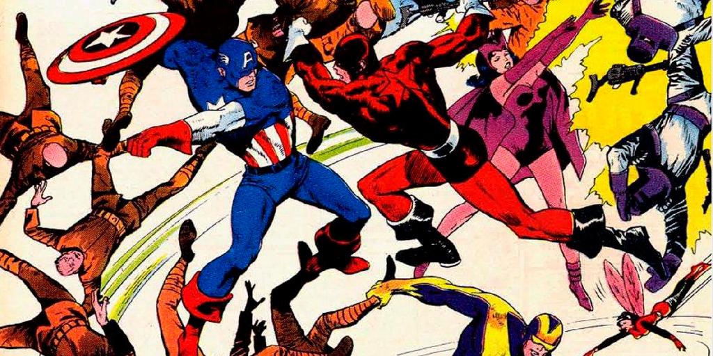 Красный страж против капитана Америки