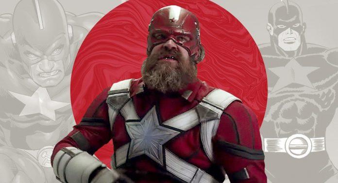 Красный страж - герой марвел