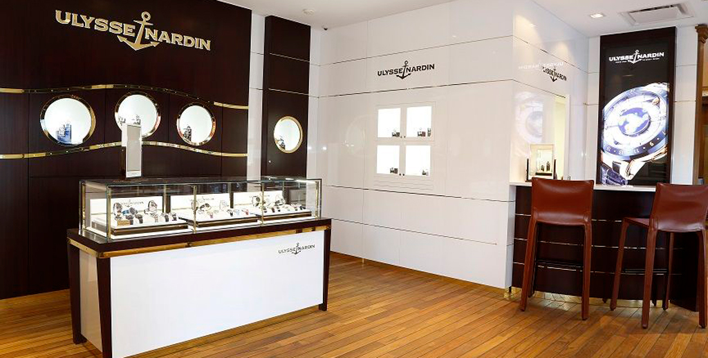 Улисс Нардин бренд часов