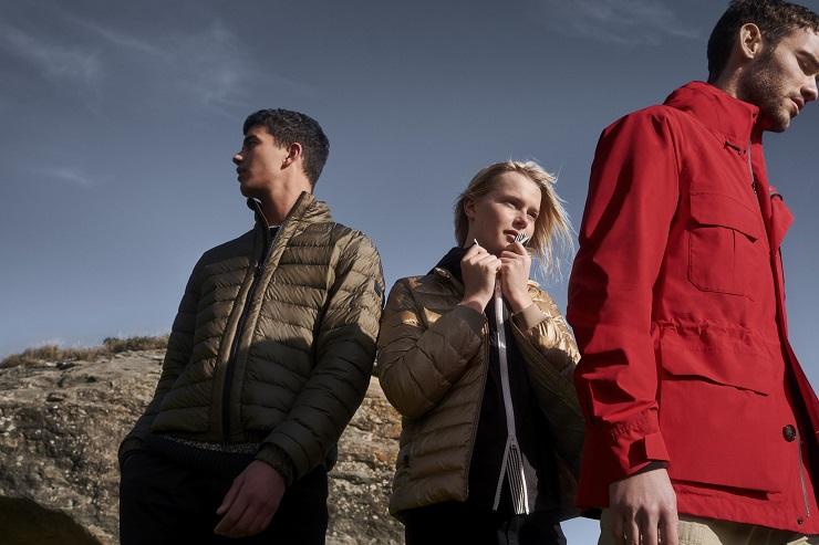 Куртка Woolrich Gore-Tex Paclite - Каменный лес Stone Forest