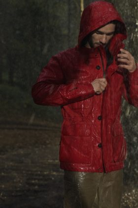 Woolrich GORE-TEX Mountain Jacket - Каменный лес Stone Forest