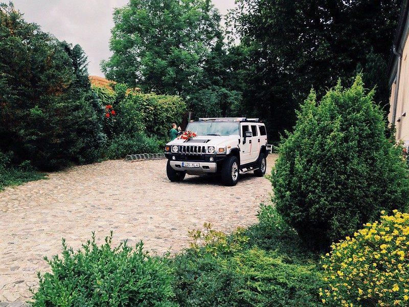 Автомобиль Hummer H2 - Каменный лес Stone Forest