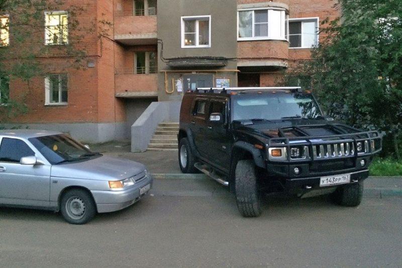 Hummer H2 в России - Каменный лес Stone Forest