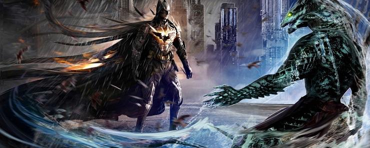 Бэтмен и Убийца Крок - Каменный лес Stone Forest