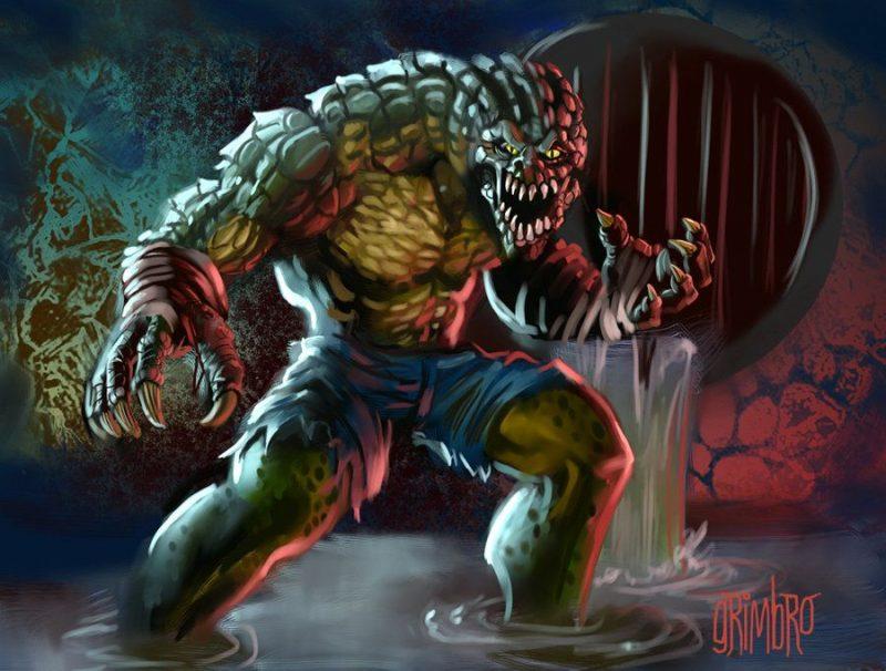Персонаж Убийца Крок - Каменный лес Stone Forest