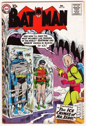 Batman (том 1) №121 - Каменный лес Stone Forest
