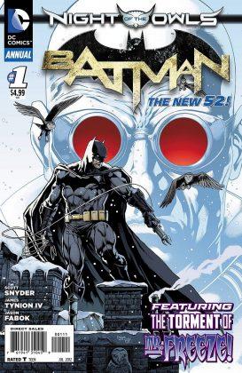 Batman Annual (том 1) №1 - Каменный лес Stone Forest