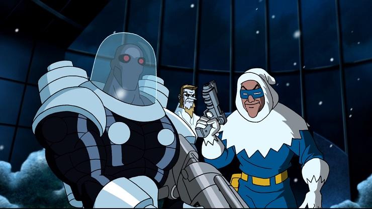 Мультфильм «Супермен/Бэтмен: Враги общества» (2009) - Каменный лес Stone Forest
