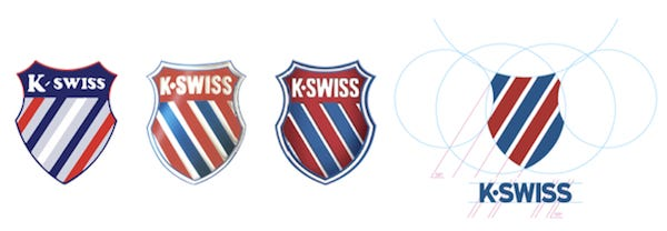 Логотип K-Swiss - Каменный лес Stone Forest