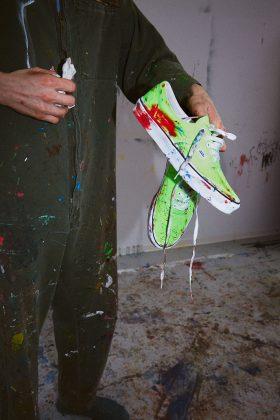 Обувь Vans Era Neon - Каменный лес Stone Forest