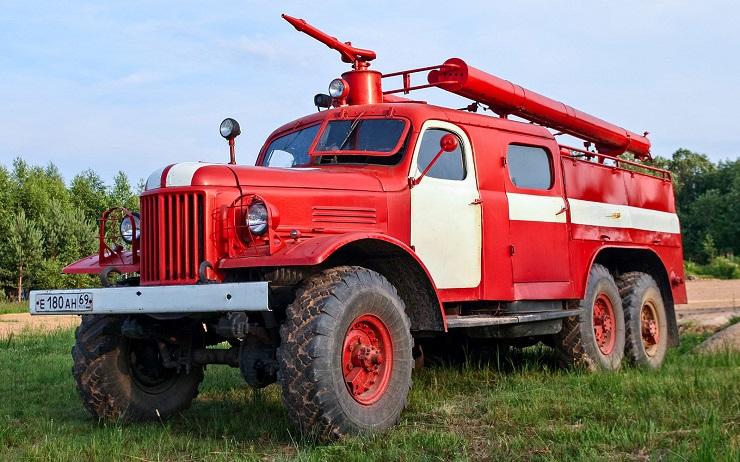 Пожарная ЗИЛ-157 - Каменный лес Stone Forest