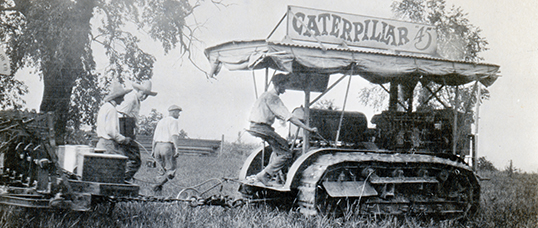 История Caterpillar - Каменный лес Stone Forest