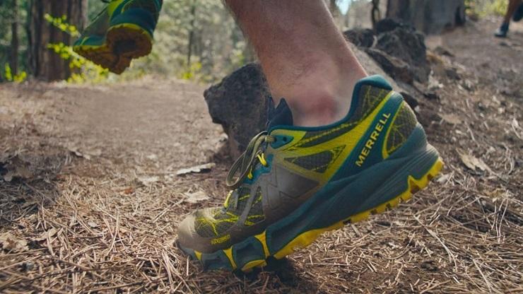 Кроссовки Merrell Agility Peak Flex - Каменный лес Stone Forest