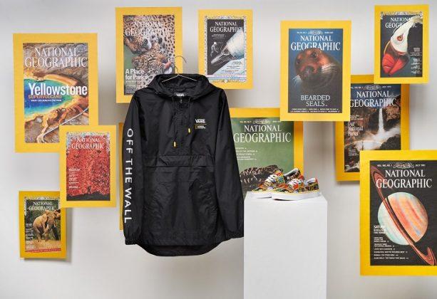 Одежда Vans x National Geographic - Каменный лес Stone Forest