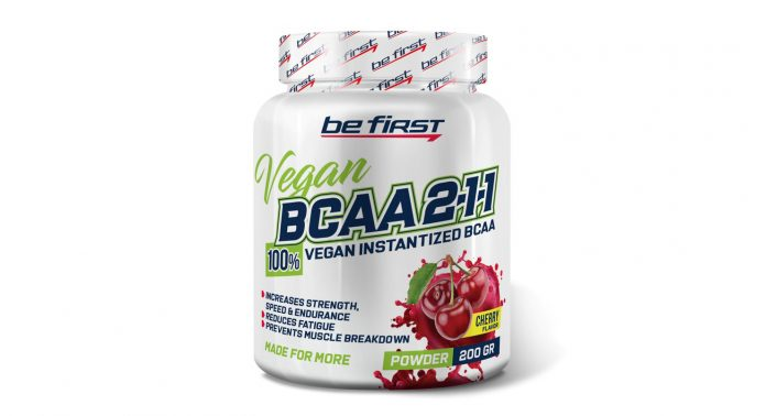 BCAA 2:1:1 Vegan powder Be First - Каменный лес Stone Forest