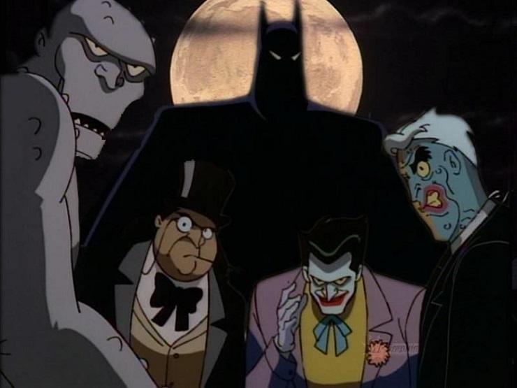 Мультсериал Бэтмен 1992 - Каменный лес Stone Forest