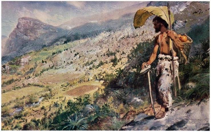 История Александра Селькирка - Каменный лес Stone Forest