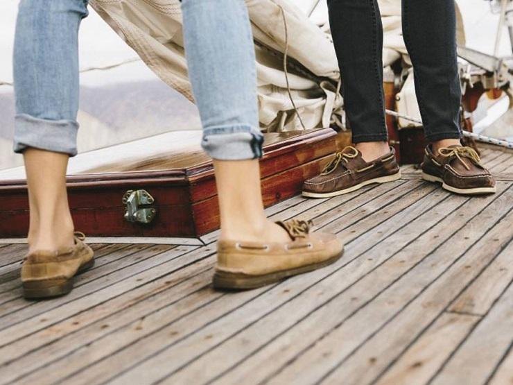 Обувь для яхтинга Sperry Top-Sider - Каменный лес Stone Forest