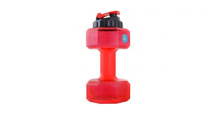 Бутылка-гантеля для воды от Be First - Каменный лес Stone Forest