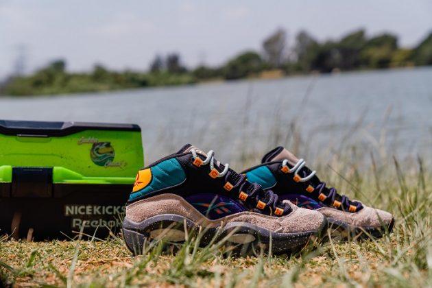 Обувь Reebok Nice Kicks Question Mid Bubba Chuсk - Каменный лес Stone Forest