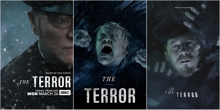 Постеры к Сериалу Террор - Каменный лес Stone Forest