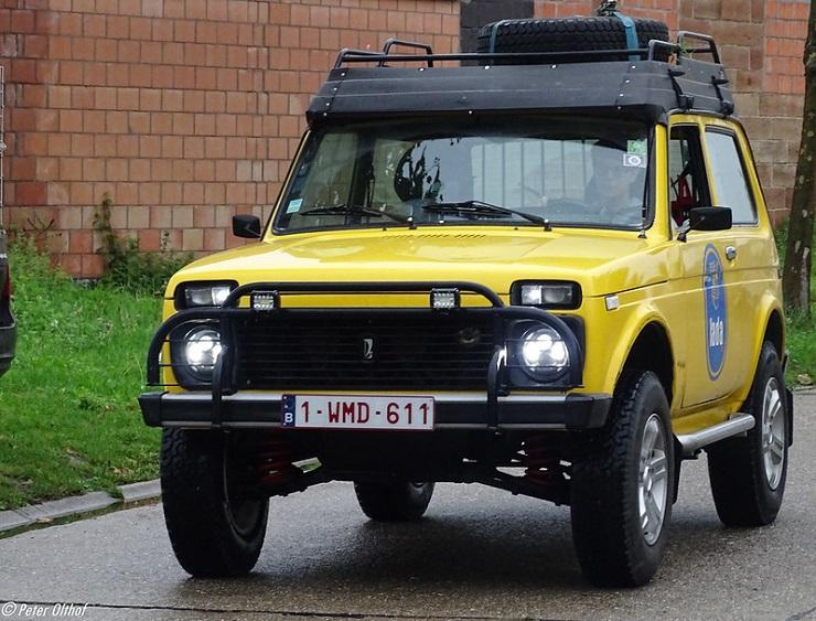 Авто ВАЗ-2121 - Каменный лес Stone Forest