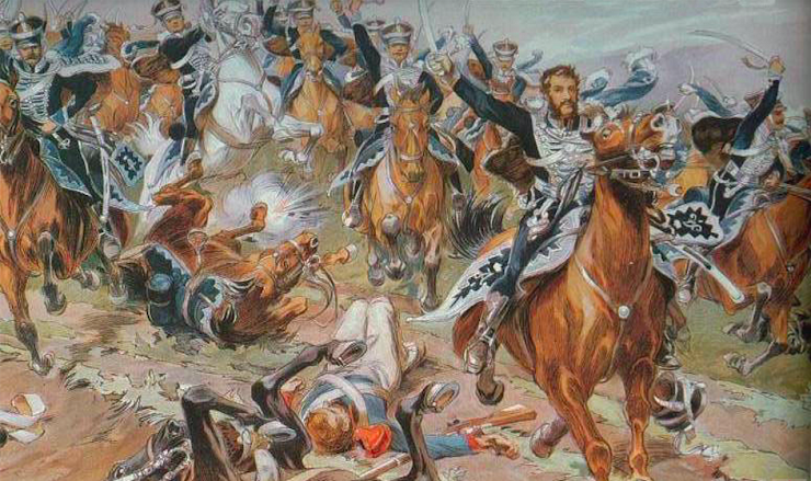 Герой 1812 Кульнев - Каменный Лес Stone Forest