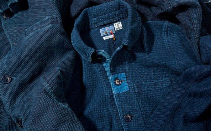 Рубашка Blue Blue Japan - Каменный лес Stone Forest