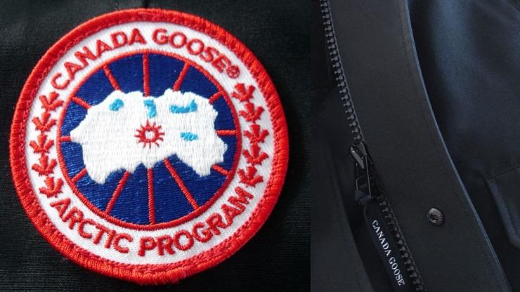 Лого Canada Goose - Каменный лес Stone Forest