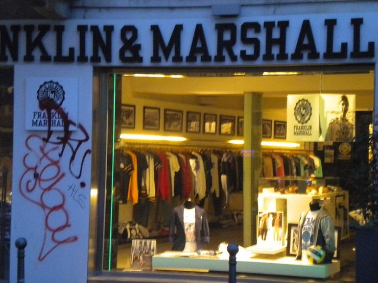 Магазин Franklin & Marshall - Каменный лес Stone Forest