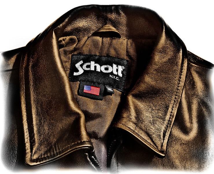 Куртка Schott NYC - Каменный лес Stone Forest