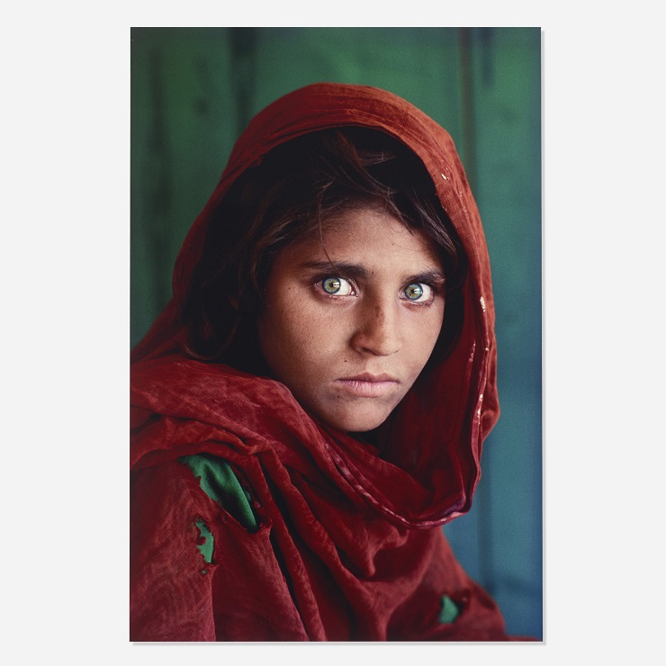 Стив Маккарри Афганская девочка - Каменный лес Stone Forest