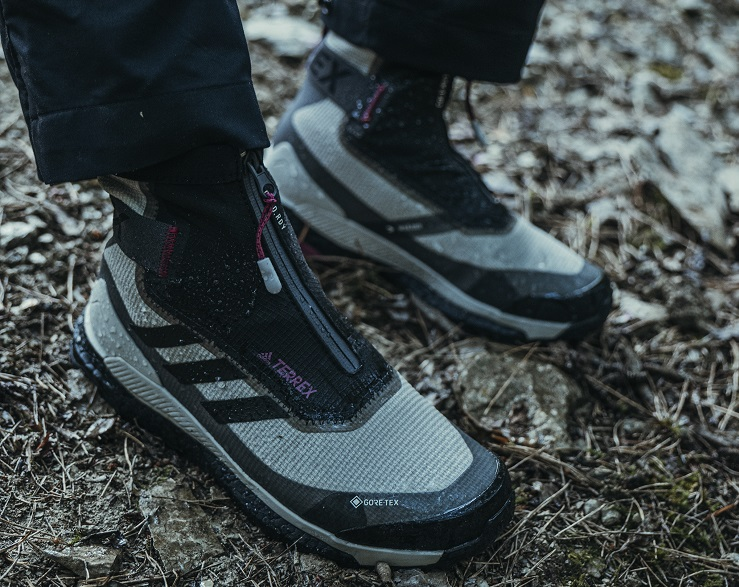 Ботинки Adidas Free Hiker Gore-Tex - Каменный лес Stone Forest