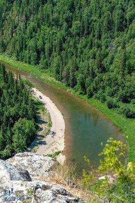 Река около Торатау - Каменный лес Stone Forest