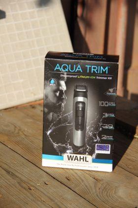 Машинка для бритья бороды и усов Wahl Aqua Trimmer - Каменный лес Stone Forest