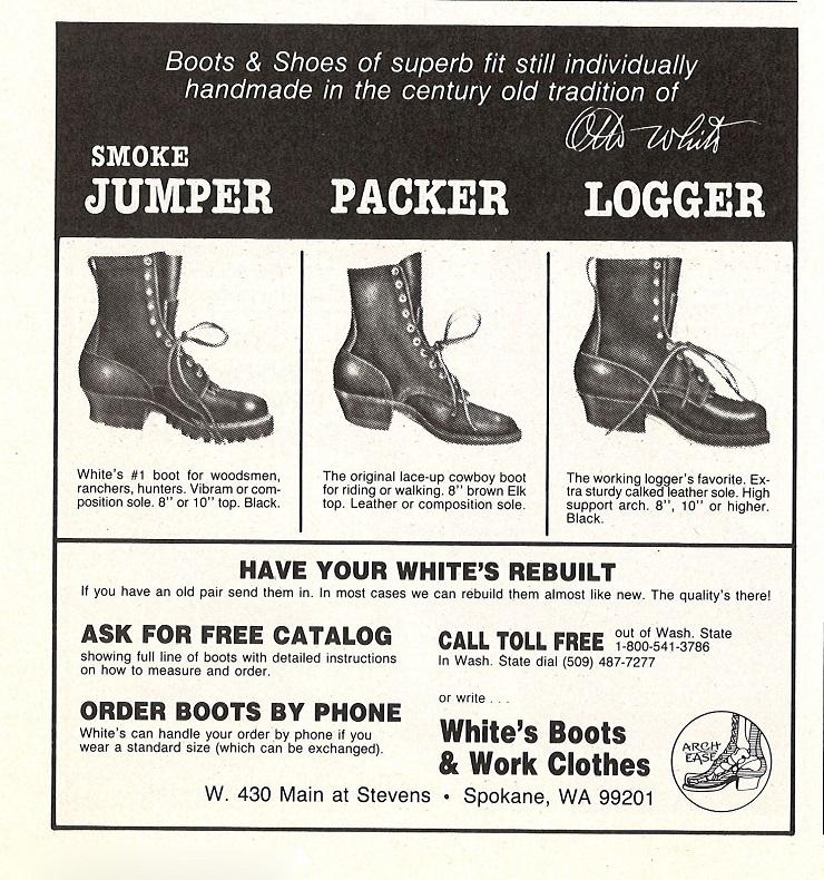 Ботинки White's Boots - Каменный лес Stone Forest