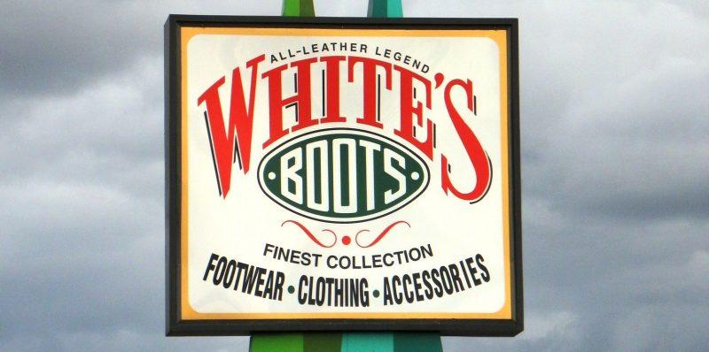 Лого White's Boots - Каменный лес Stone Forest