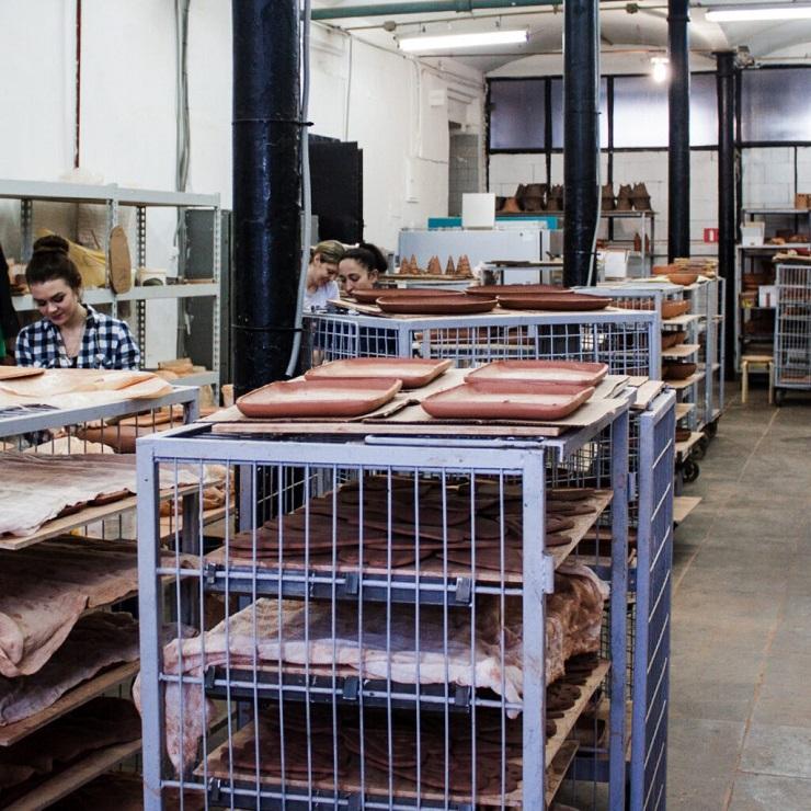 Фабрика керамики La Palme - Каменный лес Stone Forest