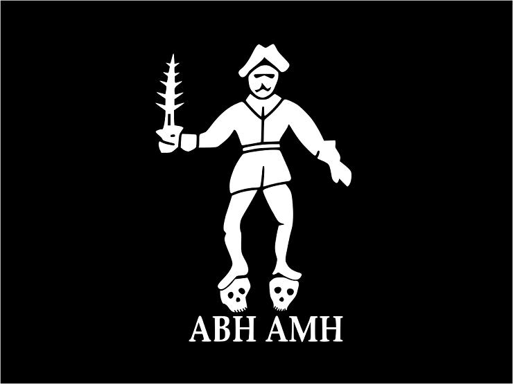 Пиратский Флаг Бартоломью Робертса - Каменный лес Stone Forest